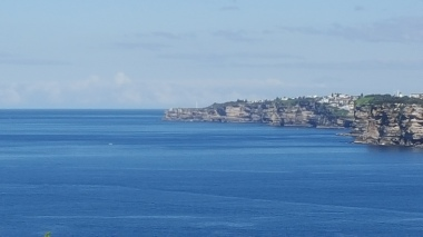 Looking across to South Head, Sydney