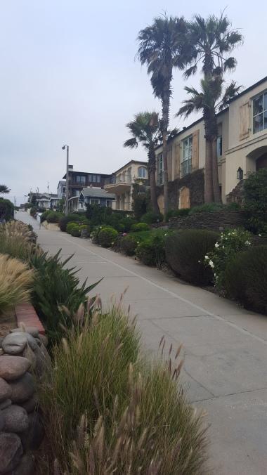 A walk street in Manhattan Beach